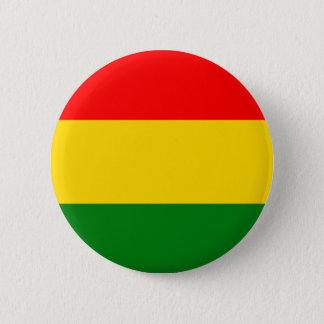 Rasta 6 Cm Round Badge
