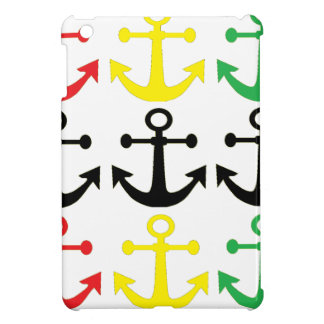 Rasta Anchors iPad Mini Cover