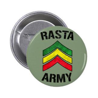 Rasta army 6 cm round badge