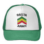 Rasta army cap