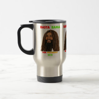 Rasta Bama, President Obama in Dreadlocks Coffee Mugs