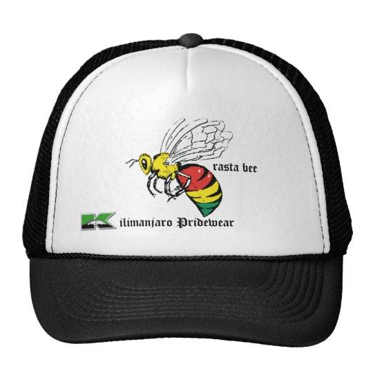 rasta bee trackers hat