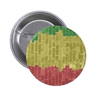 Rasta Brick 6 Cm Round Badge