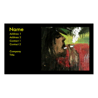 Rasta Pack Of Standard Business Cards