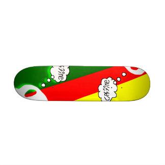 Rasta Caffine Think Skate Boards