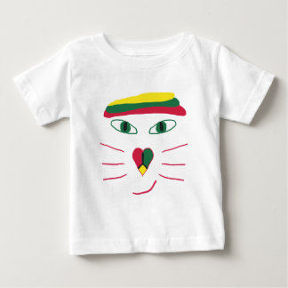 Rasta Cat Baby T-Shirt