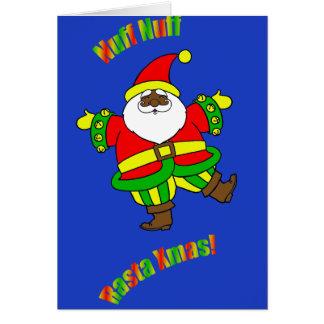 Rasta Christmas Note Card