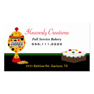 Rasta Colors Bakery Business Card