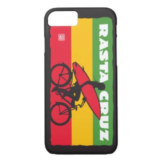 Rasta Cruz Surfer Girl iPhone 7 Case