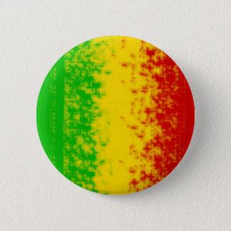 Rasta Design 6 Cm Round Badge