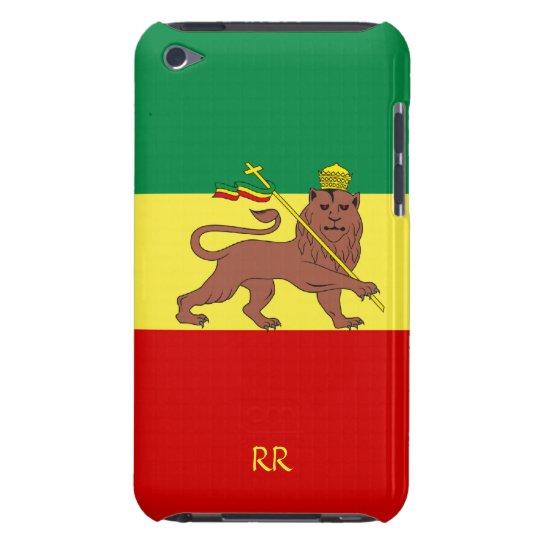 Rasta Flag Ethiopia Reggae iPod Touch 4G Case