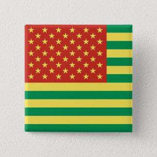Rasta Flag US Badge