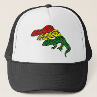 Rasta Geckos Trucker Hat