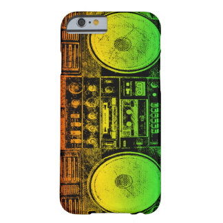 Rasta ghetto blaster barely there iPhone 6 case