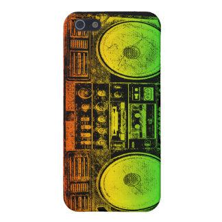 Rasta ghetto blaster iPhone 5 case