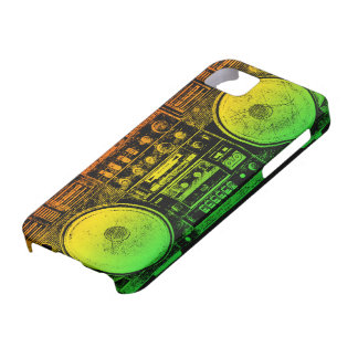 Rasta ghetto blaster iPhone 5 cases