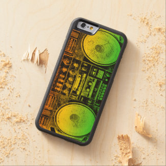 Rasta Ghetto Blaster Maple iPhone 6 Bumper Case