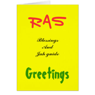 Rasta Greeting cards