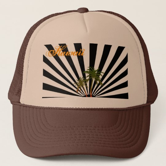 Rasta Hawaii Trucker Hat