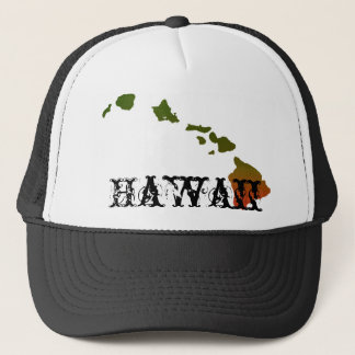 Rasta Hawaii Trucker Hat