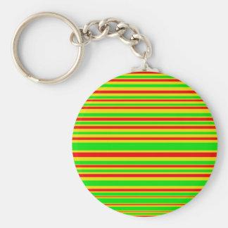 Rasta Lines Keychain
