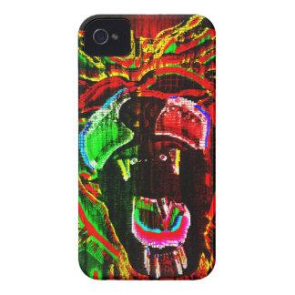 Rasta Lion Case-Mate iPhone 4 Case