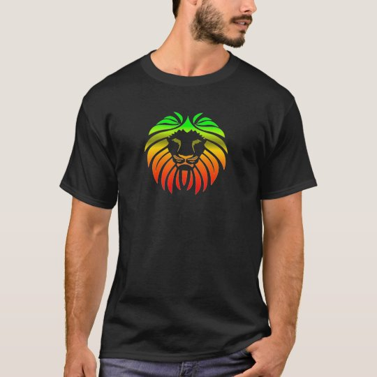 Rasta Lion Head T-Shirt
