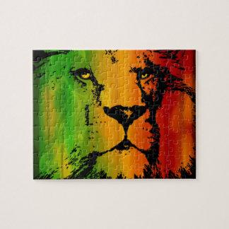 Rasta Lion Jigsaw Puzzle