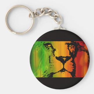 Rasta Lion Keychains