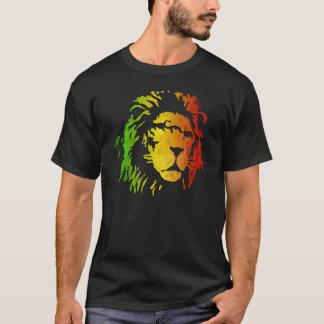 Rasta Lion of Judah Lion lovers T-Shirt