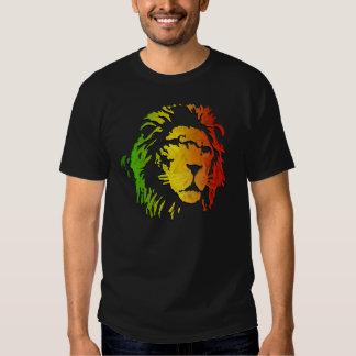 Rasta Lion of Judah Lion lovers Tshirts