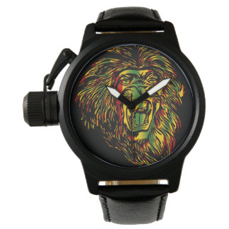 Rasta Lion of Judah Watch