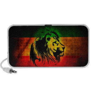 Rasta lion speakers