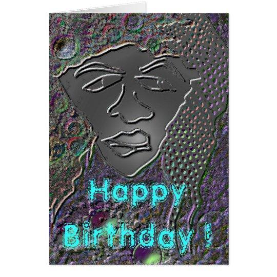 - Rasta Man - Happy Birthday ! Card