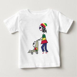 Rasta Mom Baby T-Shirt