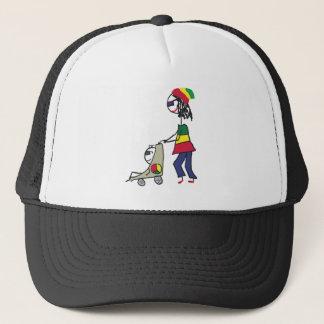 Rasta Mom Trucker Hat