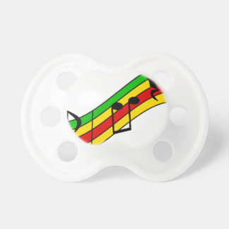Rasta Music Staff Dummy