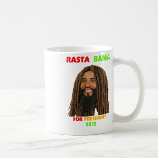 Rasta Obama, Rasta Bama for President 2012 Mugs