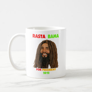Rasta Obama, Rasta Bama for President 2012 Coffee Mugs