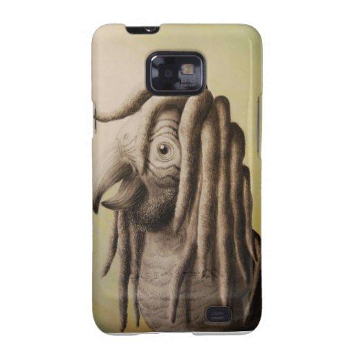 Rasta Parrot Case Samsung Galaxy S2 Cover