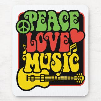 Rasta Peace-Love-Music Mouse Mat
