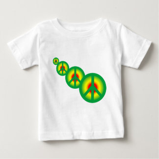 Rasta Peace Multi Baby T-Shirt