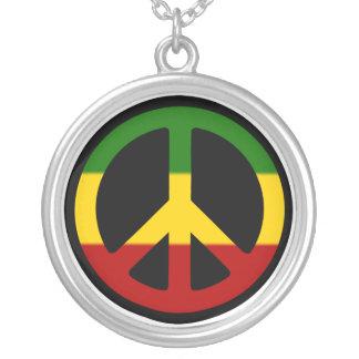 Rasta Peace Necklace