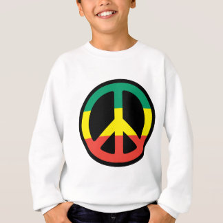 rasta peace sweatshirt