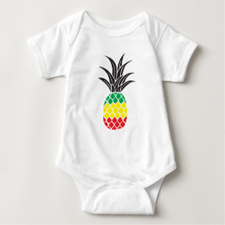 Rasta Pineapple Baby Bodysuit