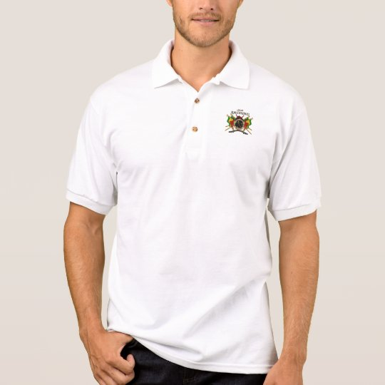 rasta polo shirt