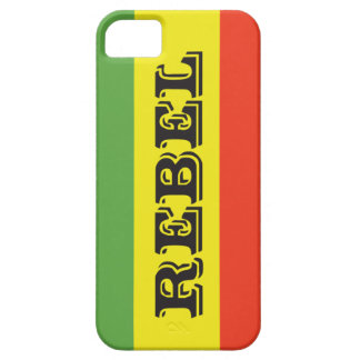 Rasta Rebel Flag Barely There iPhone 5 Case