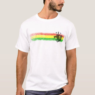 Rasta Reggae Crowned Lion T-Shirt