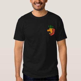 Rasta Reggae Crowned Lion T Shirts