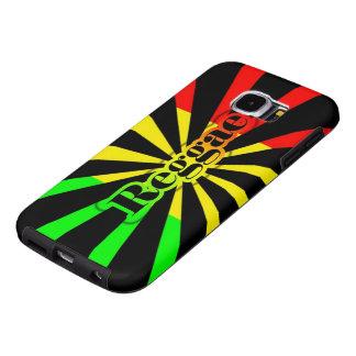 rasta reggae graffiti flag samsung galaxy s6 cases